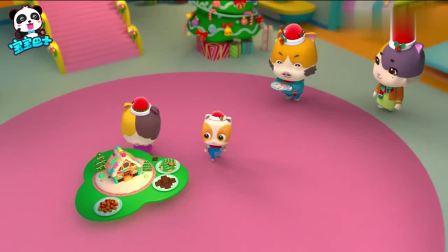 宝宝巴士儿歌:谁吃了姜饼屋,和孩子一起走进圣诞童话世界吧
