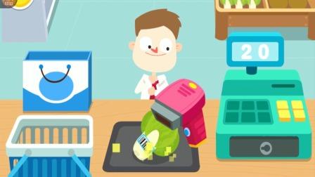 便利店购物,顾客为什么这么开心?宝宝巴士游戏