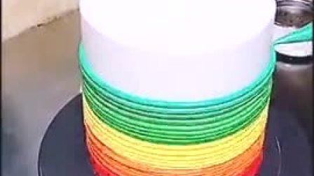 彩虹蛋糕制作
