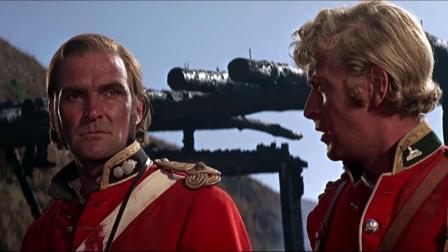 经典战争片祖鲁人不打自退,最终英军以少胜多