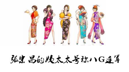 张宗昌的姨太太号称八G联军
