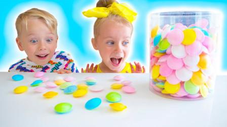 萌宝玩具故事:真皮!妈妈的零食被小萝莉跟小正太吃光了吗?