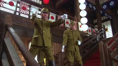 抗日剧:中国高手一挑二,完全不落下风