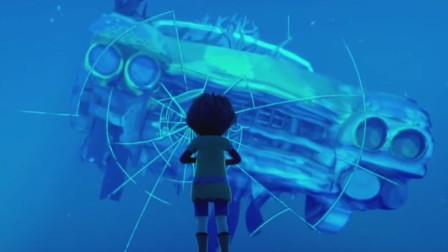 人类争分夺秒寻找钟表,却只能活在海底玻璃箱,奇幻治愈动画