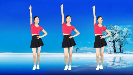 网红广场舞《谁的人生不孤独》精选流行64步健身操