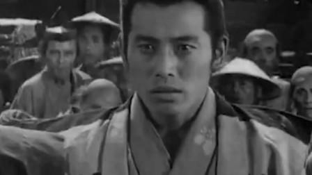 豆瓣9.2分,世界公认电影大师的经典作品《七武士》