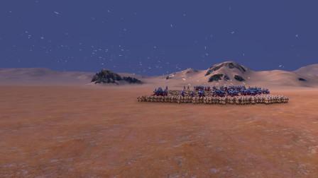 史诗战争模拟器:100个赛罗奥特曼VS5000名白衣人