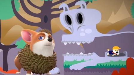 飞狗MOCO遇到石人怪,被吃掉!