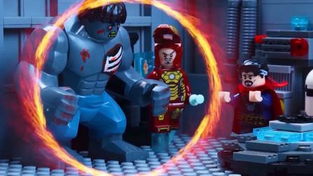 绿巨人感染丧尸病毒,竟被奇异博士传送到战场,不料拯救了所有人