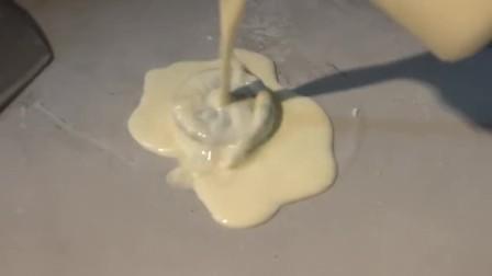 街头美食;奥利奥炒酸奶