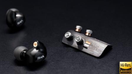可更换滤波器的双线圈蓝牙耳机:RHA T20