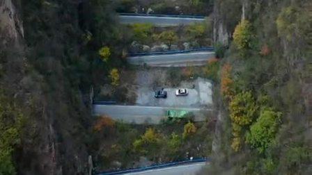太行山盘山隧道公路,大小二十三条,首尾相连总长4000多米