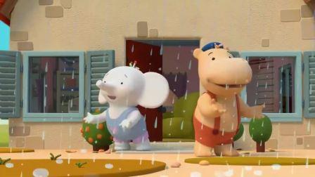 缇娜托尼:缇娜和托尼去采蘑菇,蘑菇味披萨真是太美味了!