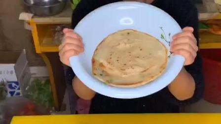 葱油饼的家庭版做法,你学会了吗?