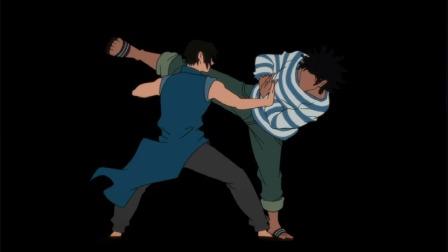 高校之神:比赛开始大叔对战小伙,大叔把小伙的手废了!!!