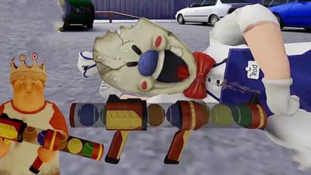 冰淇淋怪人2:塔米沦落到翻垃圾桶,用小胖的枪击倒了罗德!
