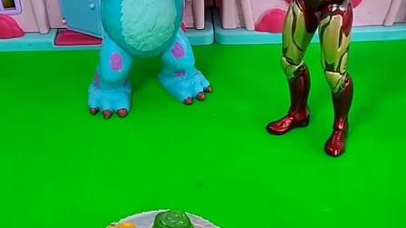 小猪佩奇玩具:王后来佩奇家做客,可是她嫌佩奇家太脏