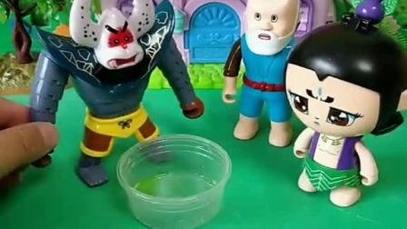小猪佩奇玩具:猪爸爸惹猪妈妈生气了,他赶紧让佩奇和乔治给他找个地方要藏起来