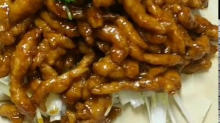 京酱肉丝的做法来了