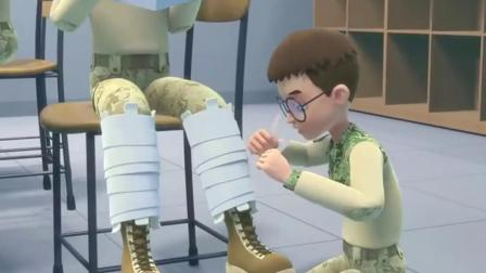 聪明的顺溜之雄鹰小子腹部中弹双腿骨折真是让人惋惜