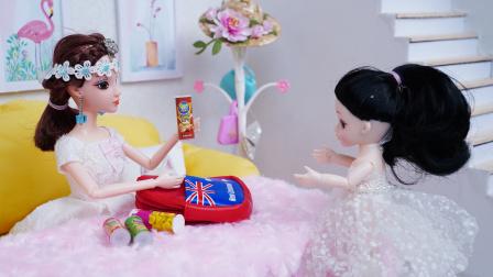 芭比娃娃答应同学带零食被妈妈阻拦,结果同学误会她了