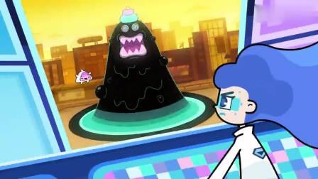 超迷你战士:博士真警惕,察觉到不对,没想到旋女皇变成大黑泥了