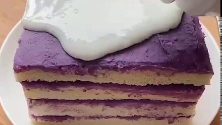 酸奶紫薯吐司,简单好做有营养