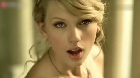 泰勒斯威夫特《love story》的经典MV,霉霉每一帧都是大片既视感
