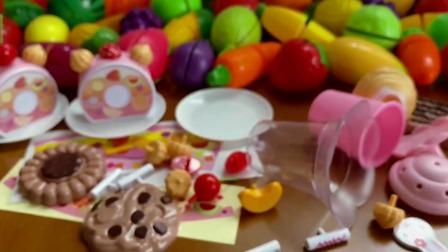 赛罗奥特曼教你做甜品小蛋糕切切乐过家家游戏