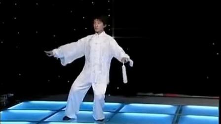 24式太极剑名家演示(新配音)