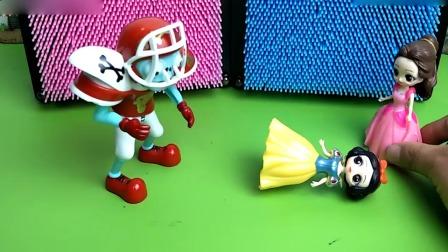 小猪佩奇玩具:白雪公主不幸落难,谁才是她真正的朋友呢?