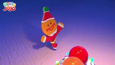 超级宝贝JOJO:姜饼屋制作完成了,小朋友学会分工合作,好默契啊