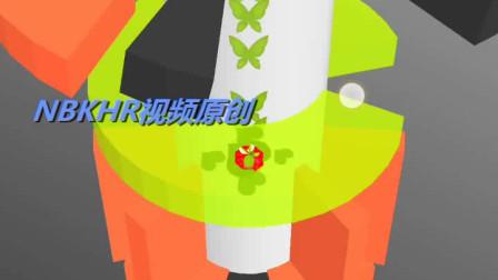 NBKHR视频原创 手机游戏欢乐球球困难模式115 虎斑霞绮
