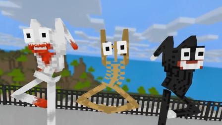 我的世界动画-怪物学院-宝宝们的比舞大赛-Theweakest Craft