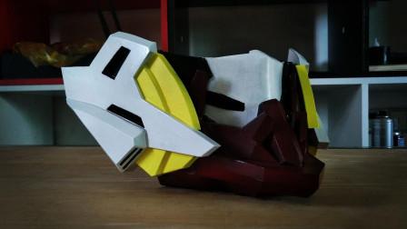 风之伊:把巴巴托斯做成一个口罩,酷酷的高达口罩