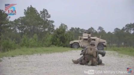 """惊人的命中率!美军在实战及训练当中发射""""标枪""""反坦克导弹"""