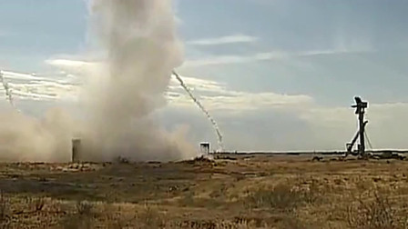 实拍S400防空导弹全部击中所有空中目标,精度太高了