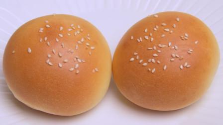 玉米油版奶香小面包,无需黄油,只需一次发酵,比外面买的还好吃