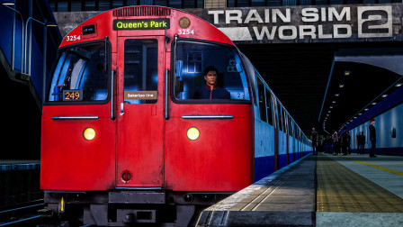 TSW2 贝克卢线 #5:夜间的贝克卢线地上段 开往女王公园站 | 模拟火车世界 2
