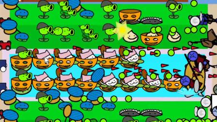 植物大战僵尸涂鸦版:豌豆射手获得新技能,穿甲弹很实用