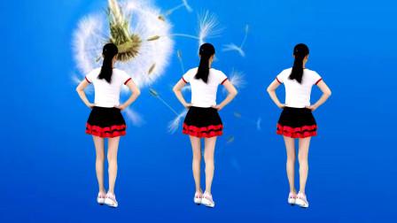 背面广场舞《火苗》32步节奏欢快,随歌起舞!