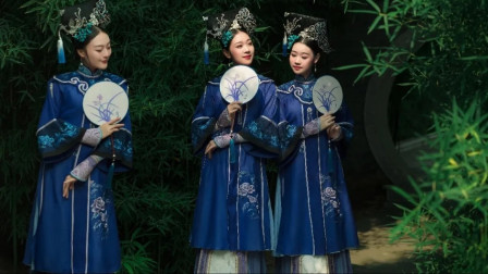 古典舞《梦回江宁》,穿这身服装踩着花盆底跳舞,功底深厚!