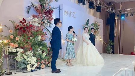 赣州婚礼主持谢飞【特别的人】援鄂护士的特别婚礼