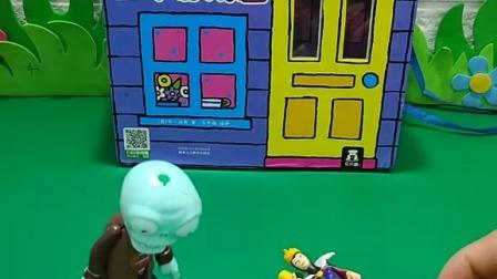 小猪佩奇玩具:小僵尸来了,佩奇不知道怎么办