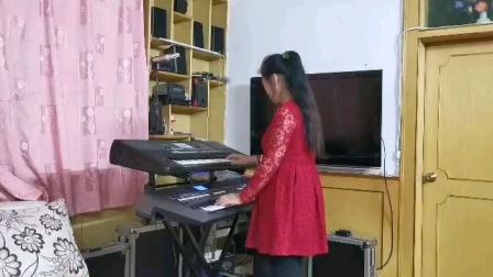 《圆梦》视频双电子琴演奏电视连续剧片尾曲〈刘老根〉