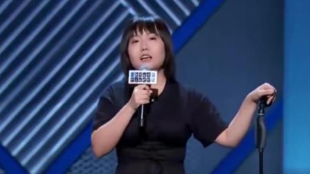 李雪琴开场太猛了,吐槽男脱口秀演员为了能赢,抢着选她!