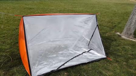 外国造出最保温的帐篷,明明只是一层薄膜,却能抵挡冬日的严寒!