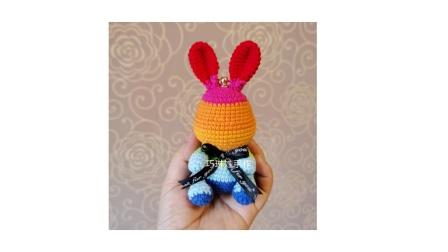 教程3 彩虹兔挂件