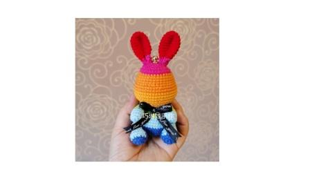 教程2 彩虹兔挂件