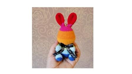 教程5 结束 彩虹兔挂件组装